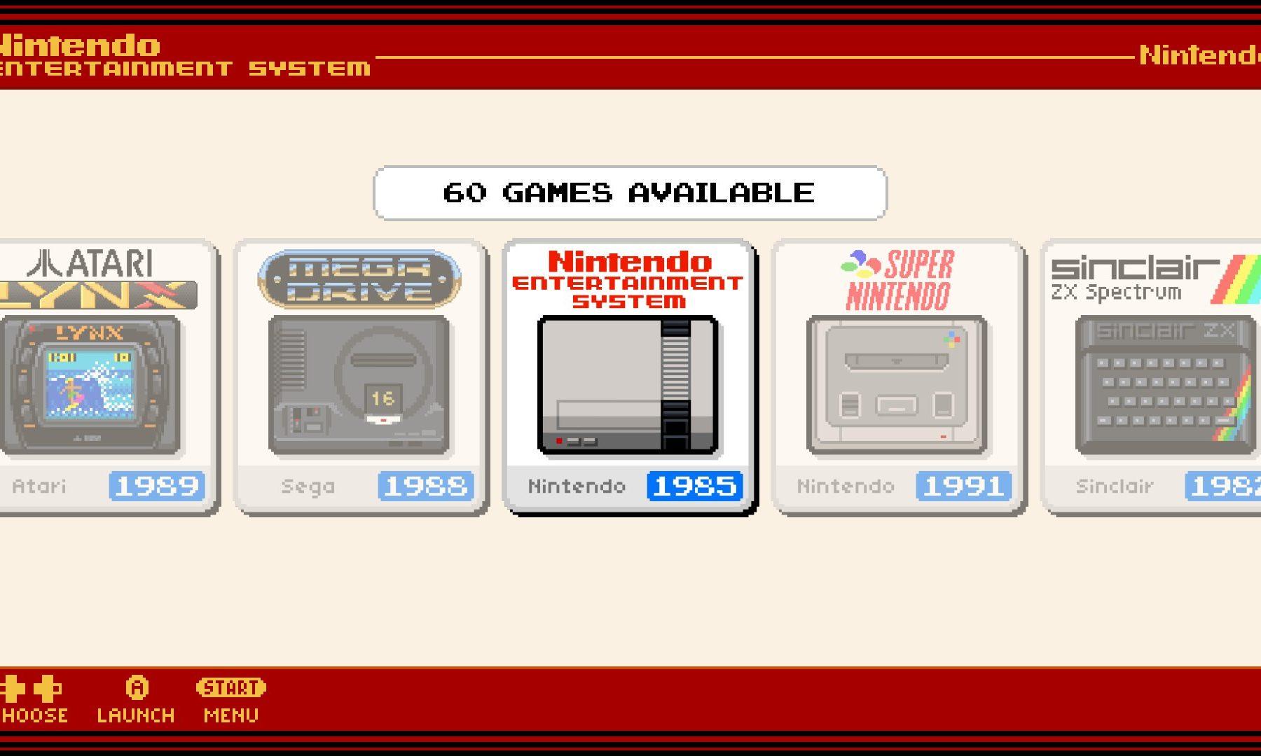 Famicom-tema til RetroPie