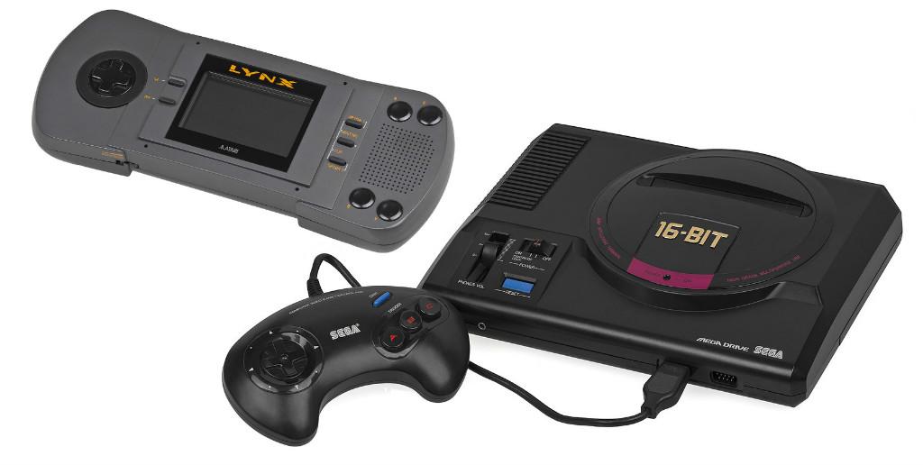 Atari LYNX og SEGA Mega Drive