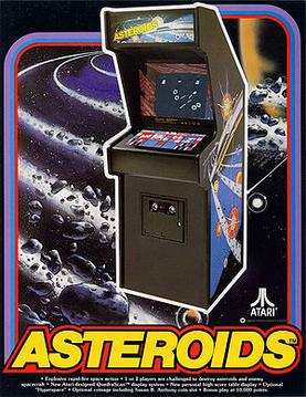 Asteroids arkademaskin