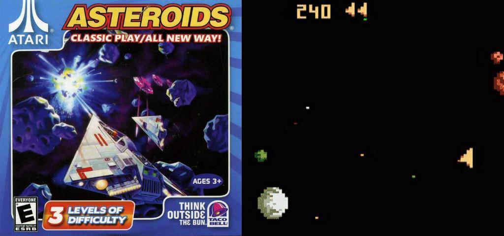 Asteroids for Atari