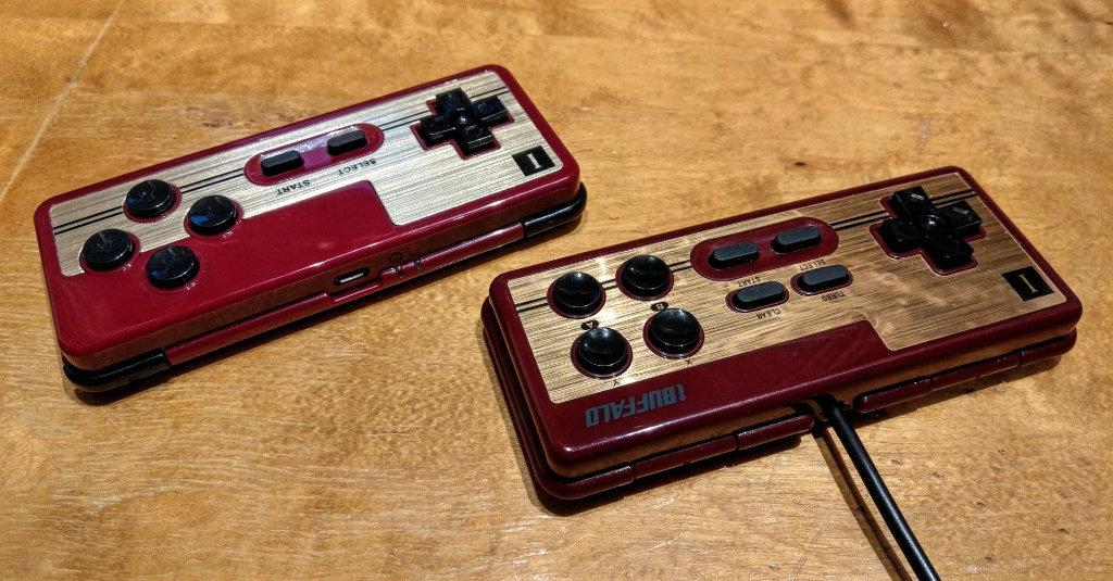Famicom replika fra 8Bit og Buffalo