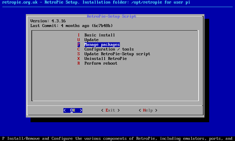 RetroPie Setup Script