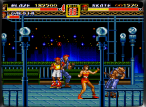 Streets Of Rage 2 med Netplay