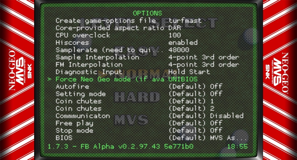 Neo Geo - RetroArch