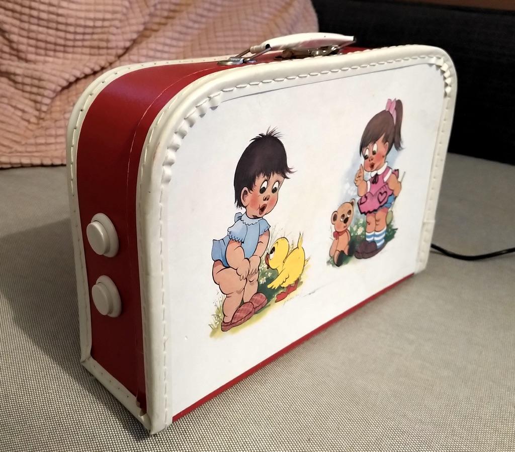 Forsiden av kofferten