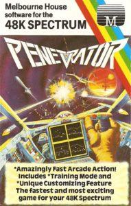 Penetrator coverbilde til ZX Spectrum