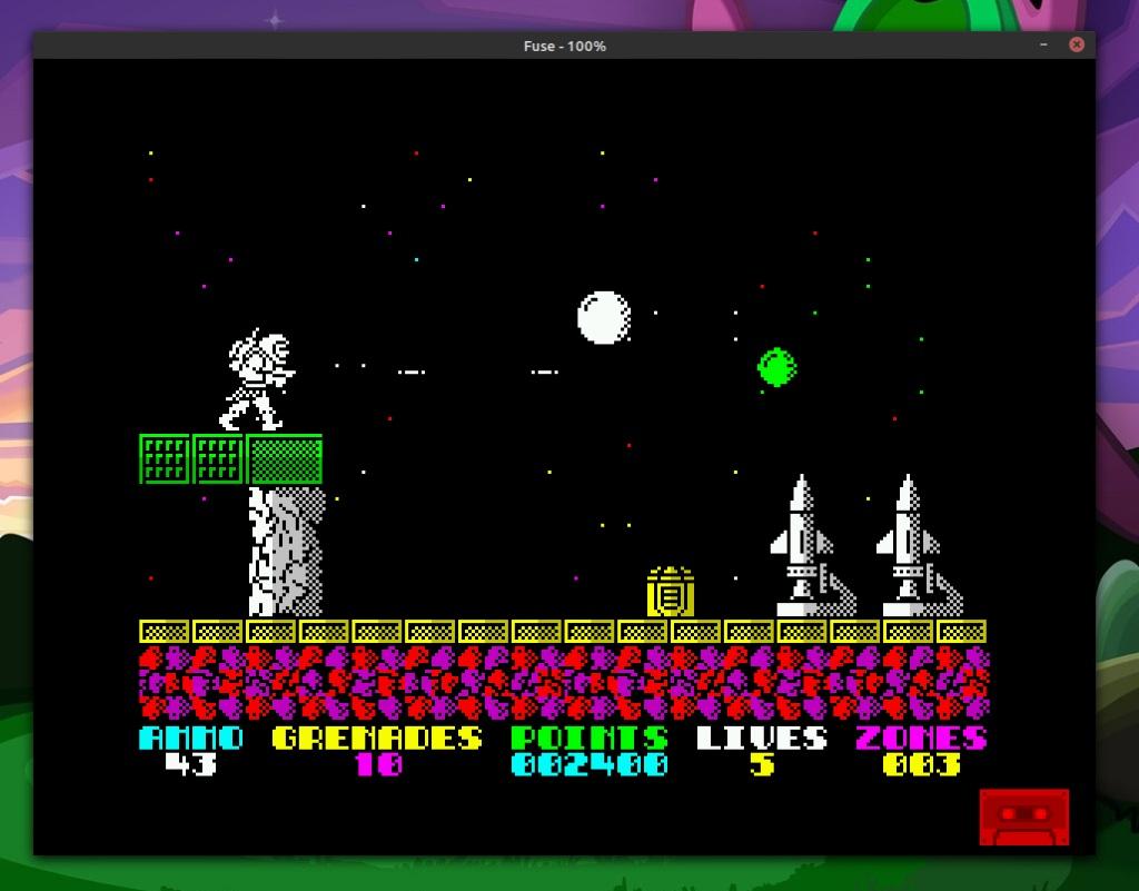 Exolon på ZX Spectrum