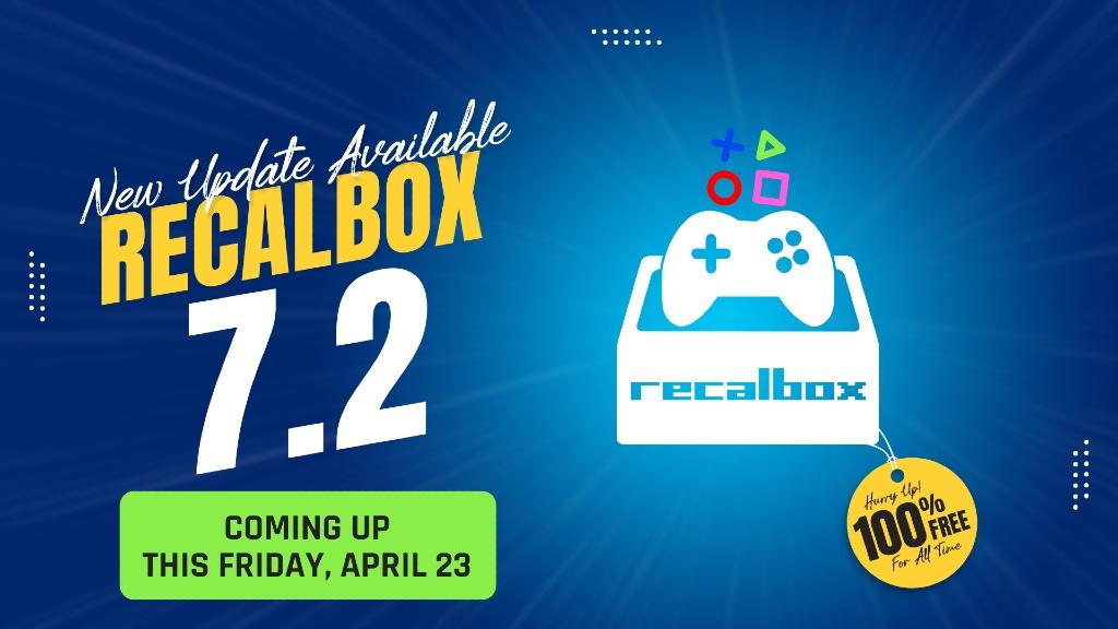 Recalbox 7.2 poster